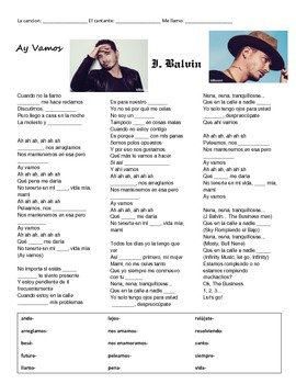 CLOZE SONG// Ay vamos by J. Balvin