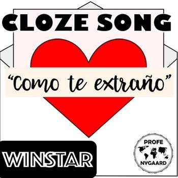 CLOZE SONG// Como te extraño mi amor por Winstar