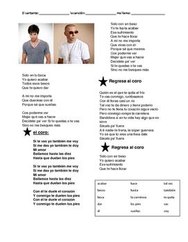 CLOZE SONG// Duele el corazón by Enrique Iglesias ft. Wisin