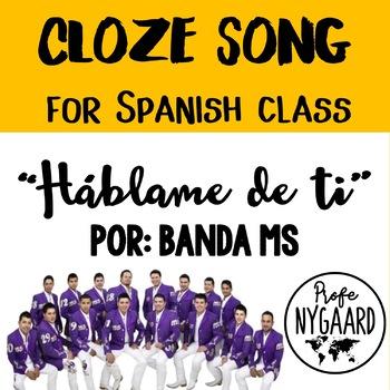 """CLOZE SONG// """"Háblame de ti"""" por Banda MS"""