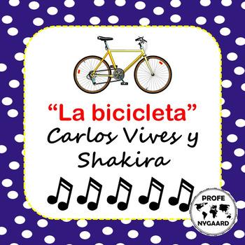 LA BICICLETA // CLOZE SONG por Carlos Vives y Shakira