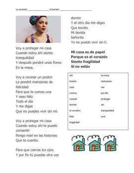 CLOZE SONG// La casa by Natalia y la forquetina