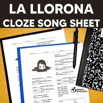 CLOZE SONG// La llorona - una versión de Ximena Sariñana