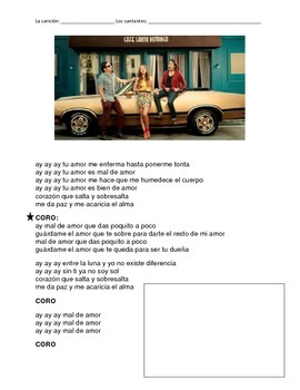 CLOZE SONG// Mal de amor by Sharlene ft. Servando and Florentino
