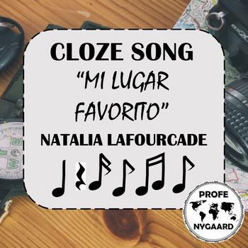 CLOZE SONG// Mi lugar favorito por Natalia Lafourcade