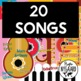 CLOZE SONG SAVINGS BUNDLE- Spanish- Level 1 difficulty