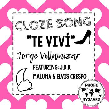 CLOZE SONG// Te viví by Jorge Villamizar featuring Elvis Crespo, Maluma, & J.D.B