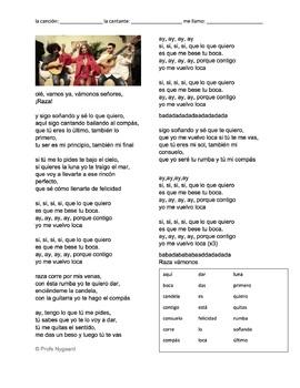 """CLOZE SONG// """"Tu boca"""" by Rosario Flores"""