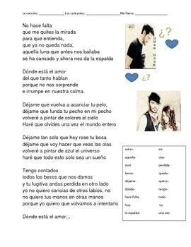 CLOZE SONG// Dónde está el amor by Pablo Alborán ft. Jesse y Joy