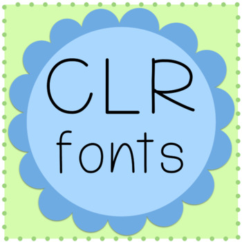 CLR Hermione Font and License