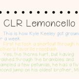 CLR Lemoncello Font and Font Licence