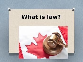 CLU 3M - LAWS VS. RULES