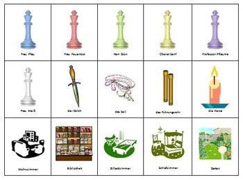 CLUE: German Grammar Game