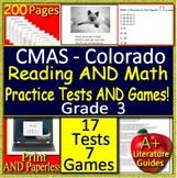3rd Grade CMAS Test Prep ELA Reading and Math Practice Tests & Games Colorado
