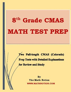 8th grade CMAS Math Tests Prep (Colorado)