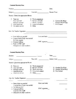 CMC Form