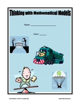 CMP - Thinking with Mathematical Models - Note taking Organizer