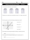 CMP - Thinking with Mathematical Models - Unit test & Modi