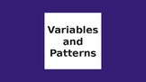 CMP- Variables and Patterns