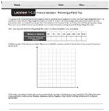 CMP3 - 8th Grade - Unit 1 Inv. 3.3, 3.4 - Inverse Variation & Modeling Pattern