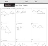 CMP3 - 8th Grade - Unit 4 Inv. 4.4e - Using Similar Triangles