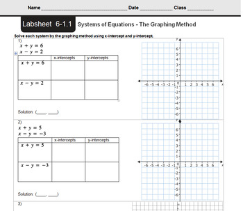 CMP3 - 8th Grade - Unit 6 - It's In The Systems - All Labsheets