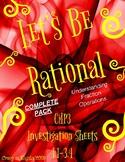 CMP3 Let's Be Rational Recording Sheets Complete Pack (FRA