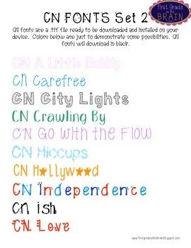 CN Fonts Set 2