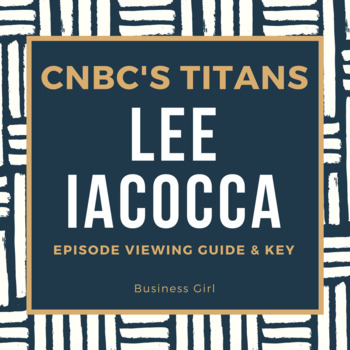 CNBC's Titans-- Lee Iacocca Episode Guide