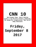 CNN 10: Friday, September 08, 2017 - NO PREP!