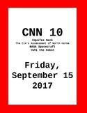 CNN 10: Friday, September 15, 2017- NO PREP!