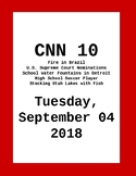 CNN 10: Tuesday, September 04, 2018