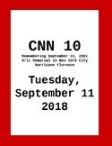CNN 10: Tuesday, September 11, 2018
