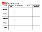 CNN 10 Weekly News Tracker
