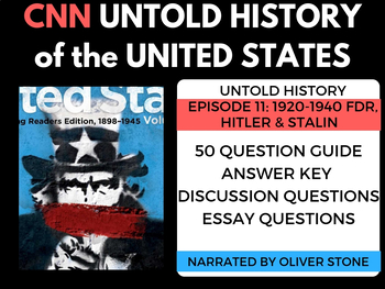 CNN Ep. 12 The Untold Story of the United States Roos, Hitler & Stalin 1920-1940