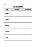 CNN Student News Form