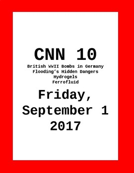 CNN Student News: Friday, September 1, 2017