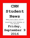CNN Student News: Friday, September 9, 2016 - NO PREP!