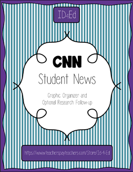 CNN Student News - Graphic Organizer and Follow-Up