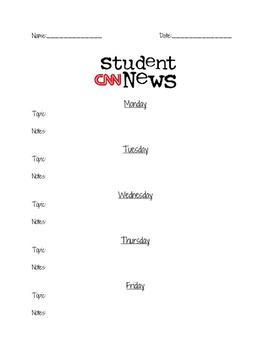 CNN Student News Viewer Guide