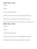 CNN10 News Tickets