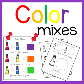 Mixing and Making New Colors