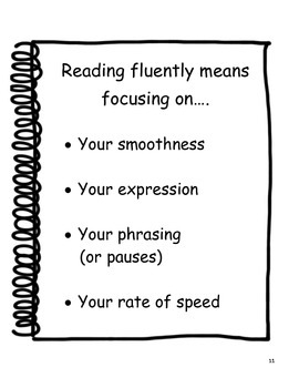 COACHES:  Fluency Activities Pack for Upper Elementary