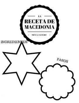 COCINAR MACEDONIA DE FRUTA. LEARN SPANISH
