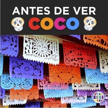 COCO Antes de ver: pre-viewing materials for Spanish classes