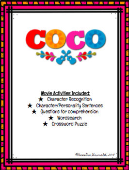 COCO Movie Activites