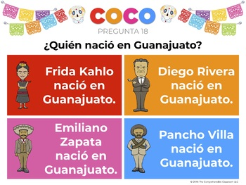 COCO The Unfair Game in Spanish: Play after watching first hour of Coco