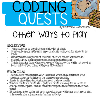 CODING QUESTS - Binary Codes Game