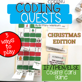 CODING QUESTS - If/Then/Else Reindeer Mission for Christmas