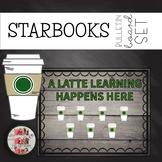COFFEE THEMED BULLETIN BOARD A Latte Learning Happens Here STARBUCKS STARBOOKS